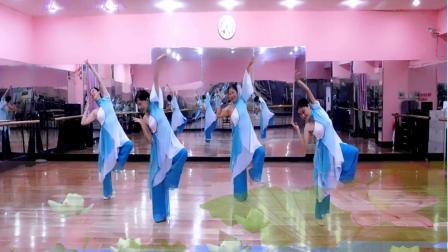 应蝶儿舞蹈 爱莲说四人(正)1