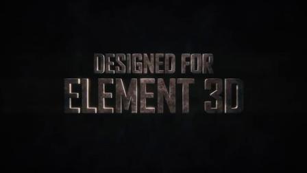 山峰峡谷地形高山雪山星球地表E3D材质贴图OBJ模型 Terrascape (Landscapes for Element 3D)