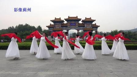 舞蹈《祖国颂》花絮   外景拍摄   盘山国家5A风景区  摄像韩宝福