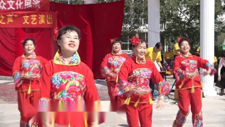 杨柳青御河之声艺术团参加区镇创文演出舞蹈《关东情》