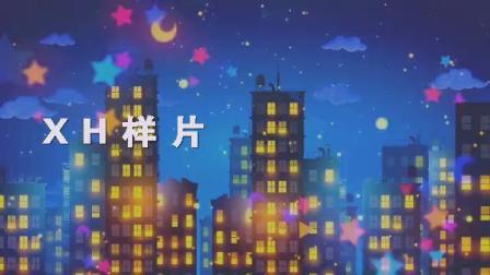 我和星星打电话小荷风采少儿舞蹈配乐成品led屏背景视频素材B823