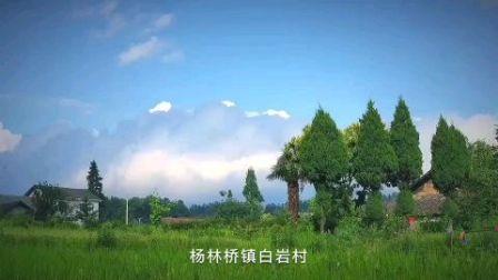 这个村周围没有太高的山,但是,远处白云来充当它的雪山!