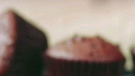网红纸杯蛋糕,好吃的巧克力麦芬