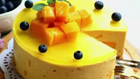 夏日下午茶甜品芒果慕斯蛋糕配方