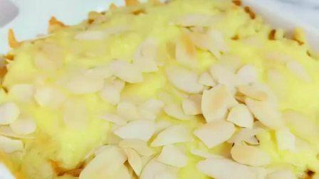 芝士焗南瓜,中秋微凉,做一个小甜品再好不过了