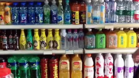 (原创)超市小王子哟!超市一半都是我的哟!哈哈哈哈