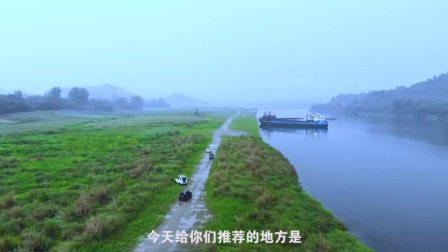 """春季露营地推荐,导航地址是""""象山生态鱼庄""""从鱼庄对面路口开下去就到了。"""