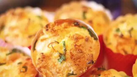 葱香肉松味的真是百吃不厌【葱香肉松蛋糕】做法简单,松软浓香,来上一口会有深深的满足感