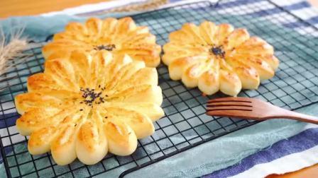 烘焙党必学的椰蓉面包,口感香软,奶香十足,每一口都超级满足!