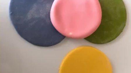 儿子对牛奶蛋白过敏,不能吃奶油蛋糕,亲手做一款彩虹🌈馒头花糕,你学会了吗?