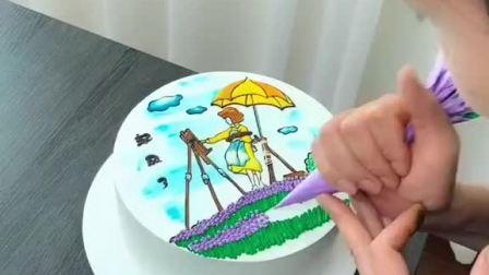 手绘蛋糕,你们喜欢嘛?