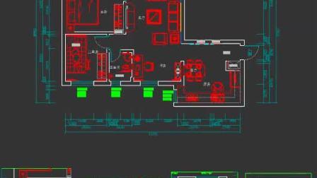 CAD平面图快速生成立面图
