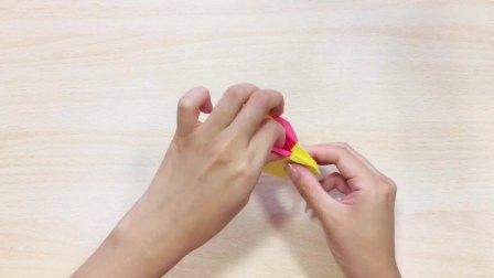 创意手工折纸-小兔盒子-视频教程(步骤4)完结!感谢支持!