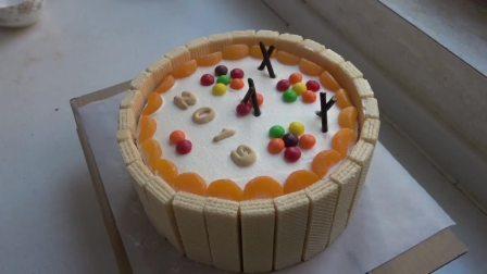 生日蛋糕超简单的做法,不用烤箱,不用电饭煲,安全无添加,好看又好吃。第一集