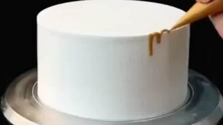 生日蛋糕装饰神器第6篇金色淋面