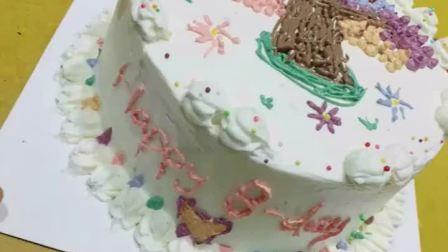 祝我生日快乐~祝我生日快乐~🎂🎉😂(这可是我自己从零开始做的蛋糕哦)喜欢就点个赞吧😘