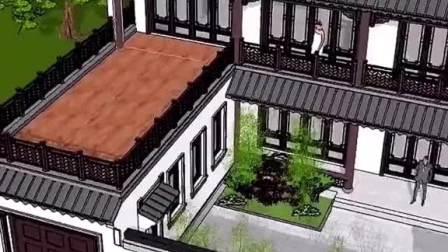 中国最美建筑,中式四合院,是国人心目中理想的住宅,回老家建一栋,给父母养老怎么样