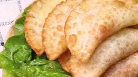 芝士火腿炸饺,你能想象到会是什么口感吗?