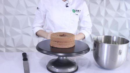 中空抹面,其实也可以说是大部分抹面蛋糕手法啦
