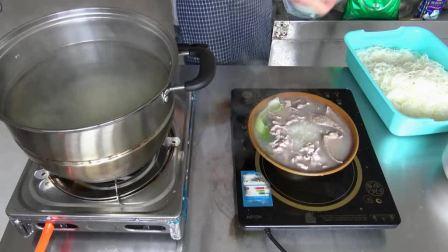 胡师傅教你做原味汤粉王,我膨胀了,不仅吃得起猪肉,还要吃猪肝、粉肠和猪肉卷