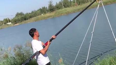 能钓多大的鱼?