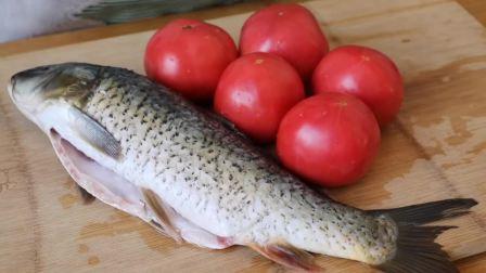 鱼肉这样做太好吃了,加5个番茄,做一大锅不够吃,太鲜美了