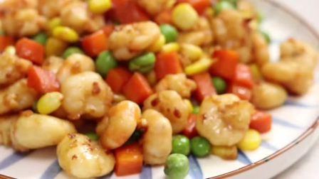 色彩鲜艳的什锦虾仁,看着就食欲满满,内附快速剥虾的方法,你们是这样剥虾的吗?