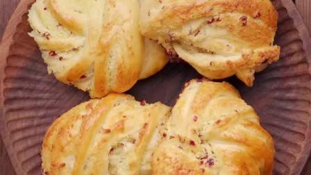 椰香满满的椰蓉面包🍞,假期自己在家做吧!