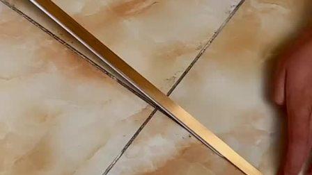 家里地板单调不好看试试这款美缝贴瞬间提升家里装修档次