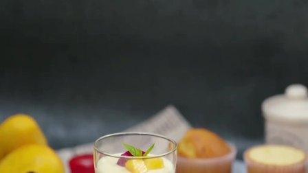 芒果慕斯杯,奶油芒果控无法拒绝😚