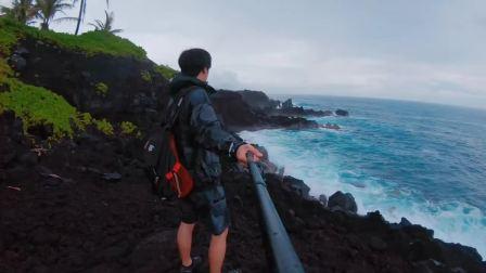 夏威夷 大岛 Kalapana