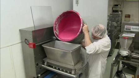 马卡龙制作过程~整个厂子都是甜滋滋的吧~