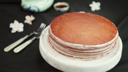 教你做店里也买不到的乌龙茶千层蛋糕!🍰
