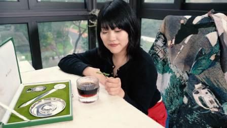 鲜虾云吞+洋芋炒姜饼瓜+金桔鸡翅+黑玉米+手冲咖啡