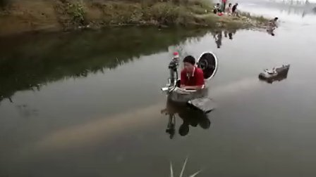 民间牛人 盘点农民自制山寨飞机赛车潜水艇 13