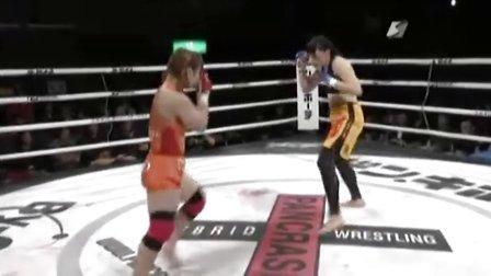 """Rin Nakai 中井りん vs Danielle """"The honey badger"""" West"""
