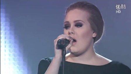 【猴姆独家】超震撼!Adele做客Echo现场激情献唱超赞新单Rolling In The Deep