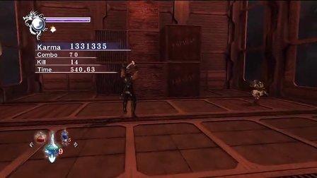PS3忍龙∑【HARD难度】流程第3章第4章视频