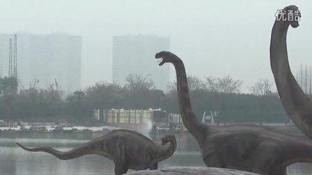 130323 萱萱在常州恐龙园