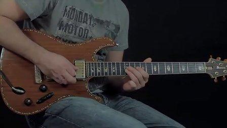 【聂锅锅独家】一段很好听的电吉他 Solo 教学(试听加谱子教学)