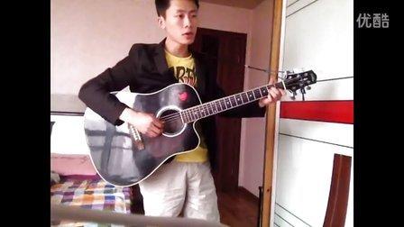 吉他弹唱 中国好声音—《会呼吸的痛》