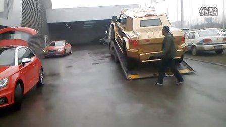 【鑫丽宸灬HD】唐山惊险全球最贵防弹装甲SUV凯佰赫战盾低音酷车