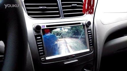 [小龙电脑]新赛欧汽车加装右侧摄像头与倒车后视自动切换倒车优先