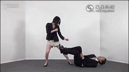 日本女白领中国功夫防狼术_最后一招绝了