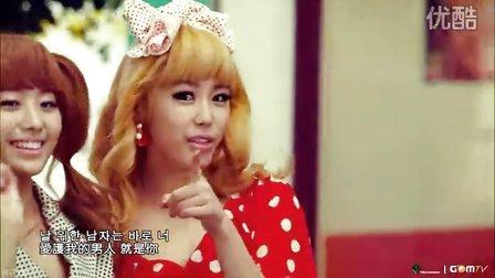 [杨晃]韩国性感美女组合Secret最新单曲Shy Boy 中文字幕版