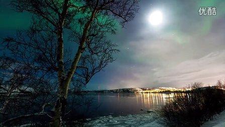 延时摄影:挪威的极光 (简介里有1080p的下载地址)