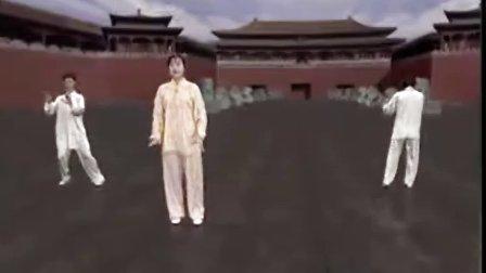 24式太极拳分解教学9-10