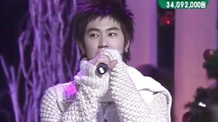 051224 Show me your love.The First Noel_TVXQ.KBS1.
