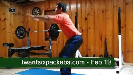 腹肌网-如何练出6块腹肌第1周