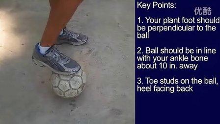 脚内侧起球技巧
